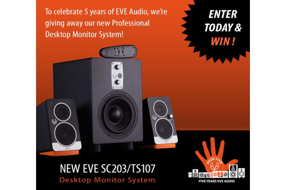 German studio monitor manufacturer EVE Audio turns five i...