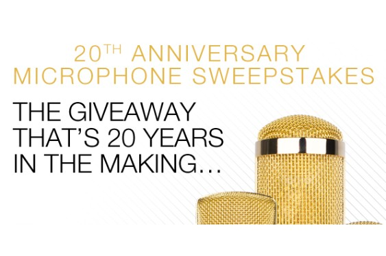 To celebrate 20 years in business, MXL is giving away thr...