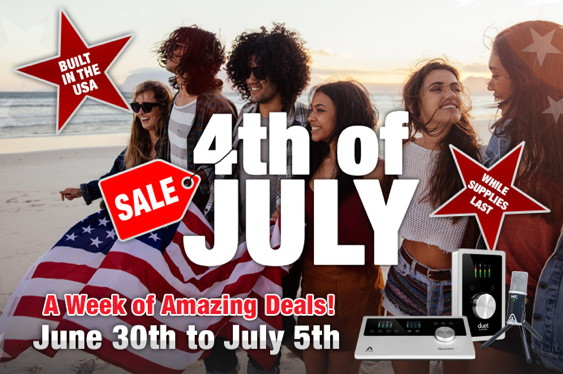 Apogee is having a weekend sale from now until July 5! Th...