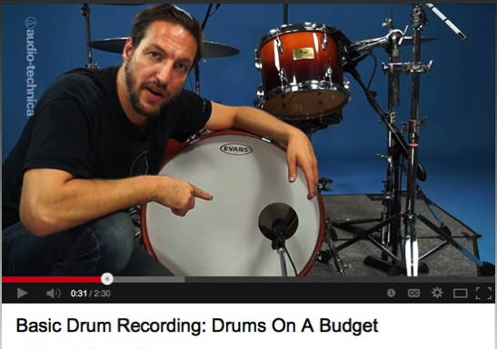 Audio-Technica Posts Online Video Series Exploring Mic Te...
