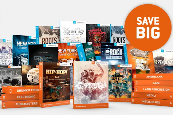Toontrack is offering a huge sale on EZX and SDX expansio...