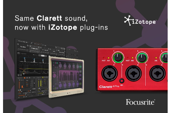 Focusrite and iZotope are excited to launch a collaborati...