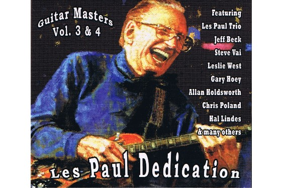 The Guitar Masters Vol. 3 & 4 features stellar guitarists in a tribute to Les Paul, as well as Les himself on one track.