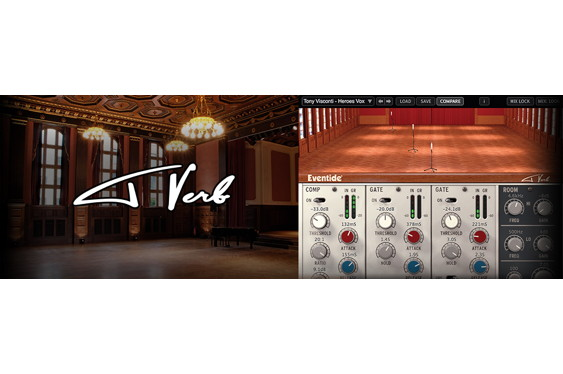 Eventide's brand-new Tverb plug-in was developed in colla...