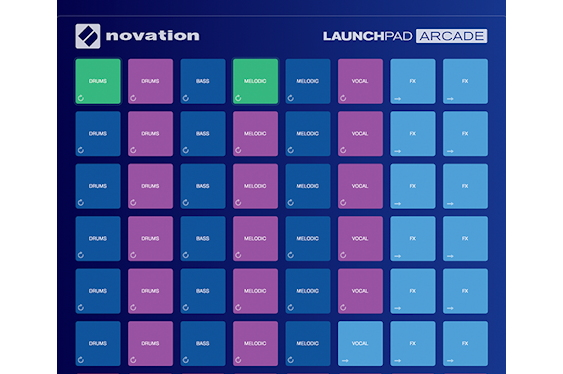Latest news from Novation includes Launchpad Arcade, a fr...
