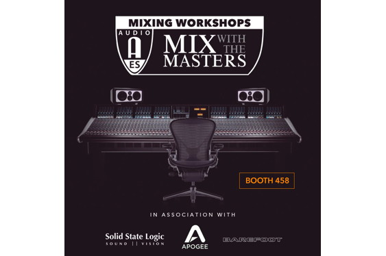 Come visit the Mix With The Masters [Booth 458] at the 14...