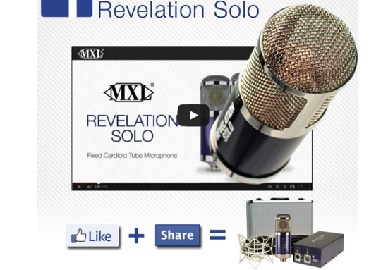 Don't miss your chance to win the MXL Revelation Solo! Al...