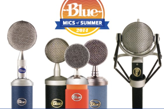 Blue Microphones announces the Mics of Summer promotion, ...
