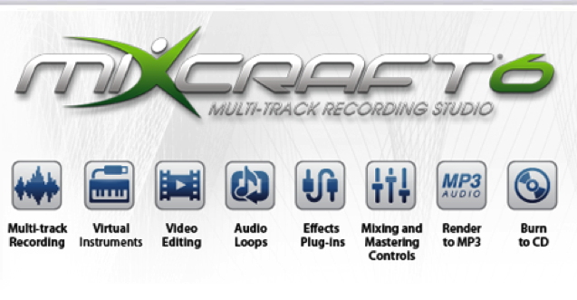 Acoustica's award-winning Mixcraft 6 music production and...