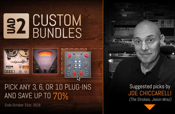 Universal Audio has added three new ways to save on plug-...