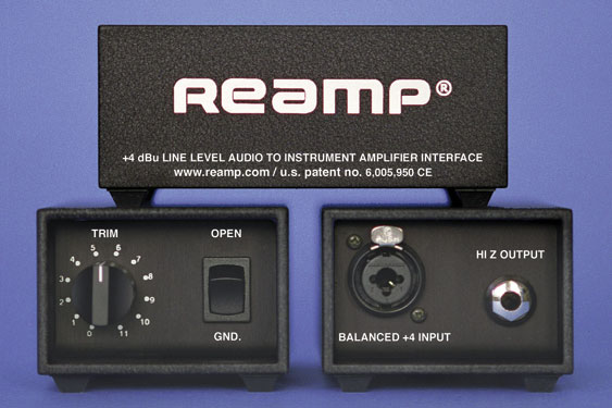 The Reamp box...
