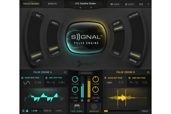 Output, maker of the SIGNAL Pulse Engine plug-in reviewed...