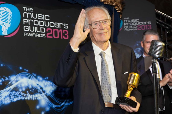 London, UK: The executive board of the Music Producers Gu...