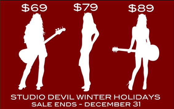 The Studio Devil Winter Holiday Sale event is here!<br />...