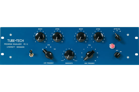 Tube-Tech PE 1C based on the classic Pultec Program EQ
