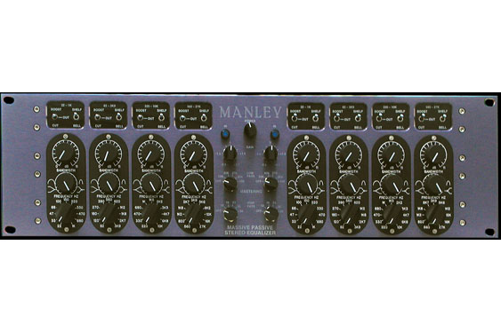 Manley Massive Passive EQ for mastering