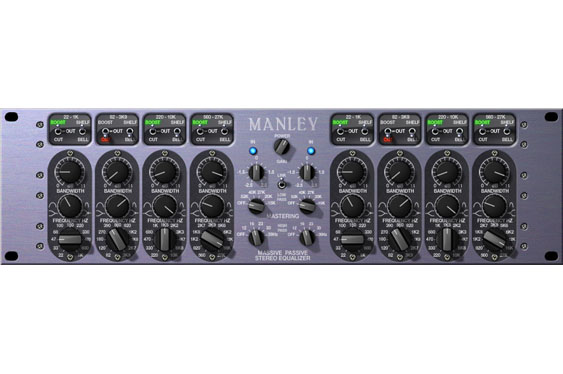A plug-in version of the Manley Massive Passive EQ for mastering by Universal Audio