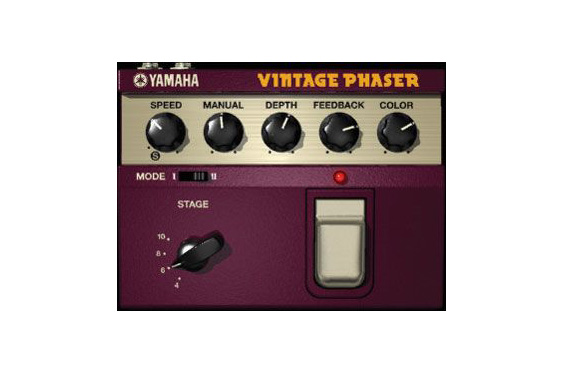 Yamaha software-based vintage phaser.