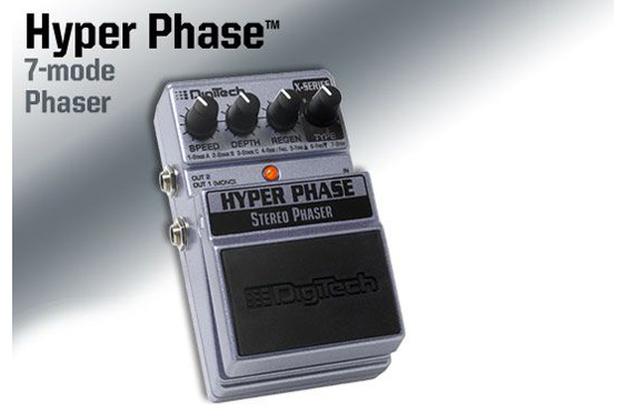 Digitech Hyper Phase Stereo phase pedal.