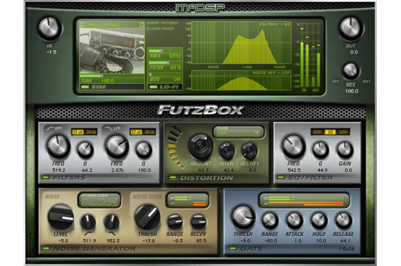 McDSP FutzBox for making great lo-fi effects.