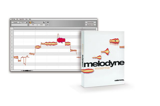Celemony Melodyne pitch and time correction plug-in.