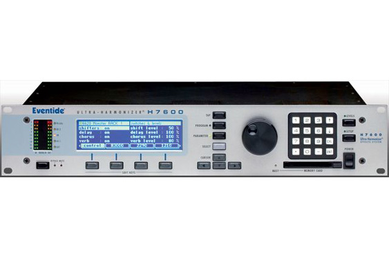 Eventide H7600 Ultra-Harmonizer hardware effects system.