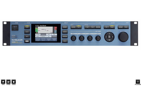 TC Helicon VoicePro Voice Processor.
