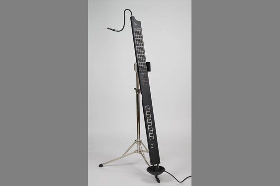 A string/keys/wind hybrid called the Eigenharp Tau by Eigenlabs.
