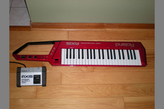 The infamous Roland Axis *keytar* produced in circa 1985