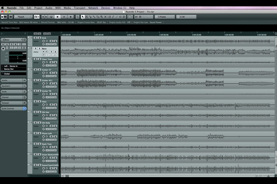 In Nuendo, the project window is like the ProTools Edit window.