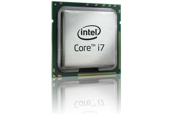 *visible* Core i7 CPU by Intel