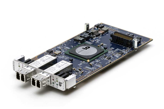 Fibre Channel optical interface card.