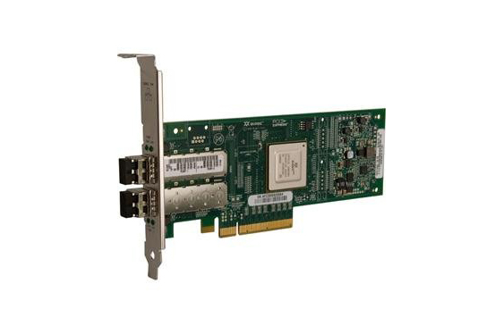 Fibre Channel card using ethernet instead of optical.