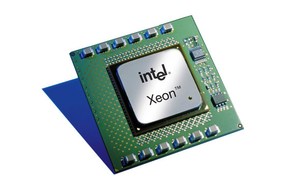 Intel Xeon CPU face