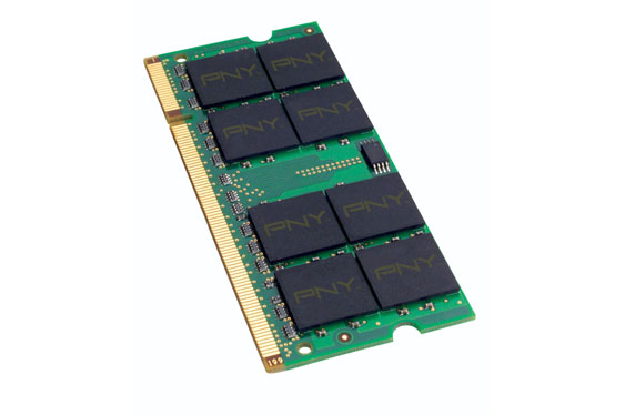 DDR2 RAM memory (PNY OPTIMA 2GB 667 MHz Notebook / Laptop SODIMM)