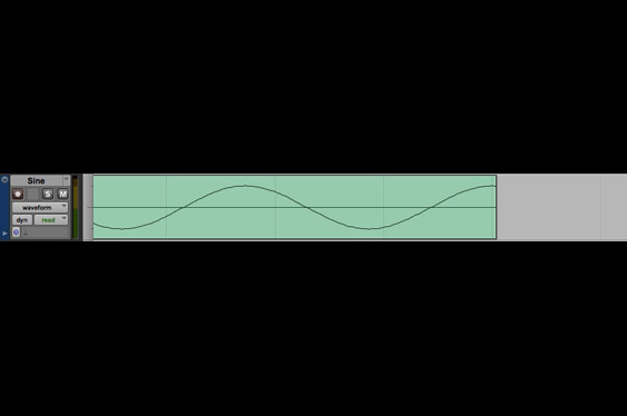 A sine tone with a bad edit at the end. The waveform is truncated. (listen to TCRM28_8.wav).