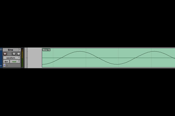 A sine with a bad edit at the beginning. (listen to TCRM28_7.wav).