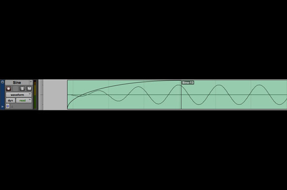A sine with a bad edit at the beginning is faded over 6ms to make a smoother transition into the sample (listen to TCRM28_12.wav).