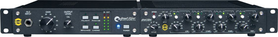 MEQ-1NV Great River channel strip with LED metering