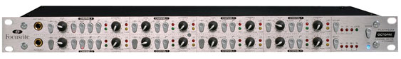 Focusrite OctoPre - 8 channel mic preamp with dynamics and DAC