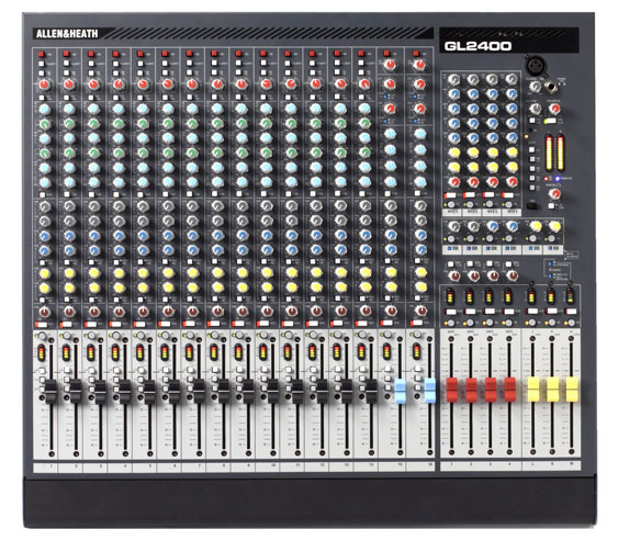 Allen and Heath GL2400 mixing console
