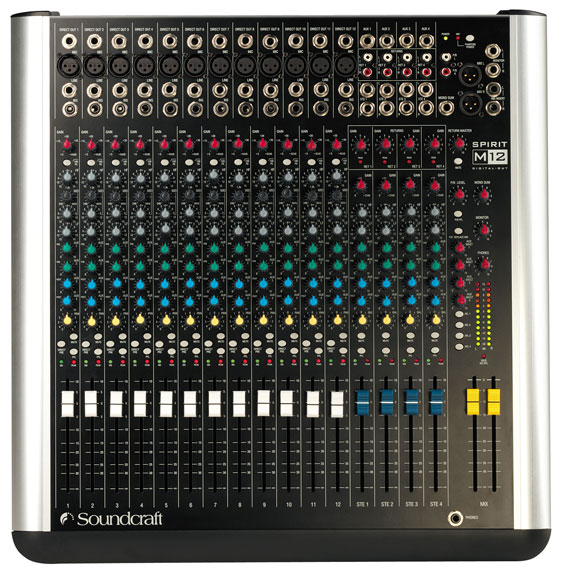 Soundcraft Spirit M12 mixing console