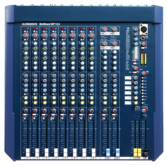Allen and Heath MixWizard WZ3 12:2 mixing console