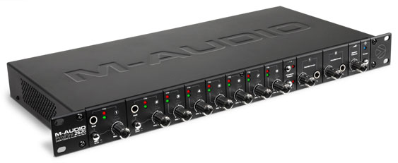 M-Audio ProFire2626 � 8 channel mic preamp with DAC and Firewire interface