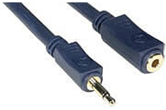 3.5mm TS male and female connectors