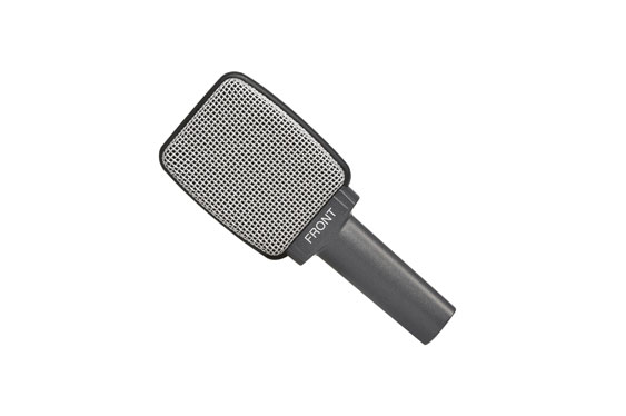 Sennheiser e606 super-cardioid instrument mic. Specially developed for miking guitar cabs close up.