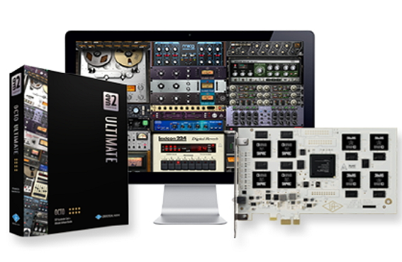New Flagship 8-Processor UAD-2 OCTO DSP Accelerator, New ...