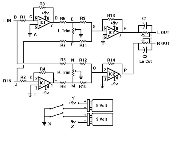 Phase Phlogger schematic diagram