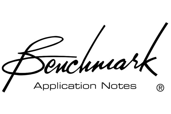 Benchmark Media Systems' latest Application Note is about...