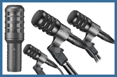 Audio-Technica�s ATM230PK and AE2300 Dynamic Instrument Mics
